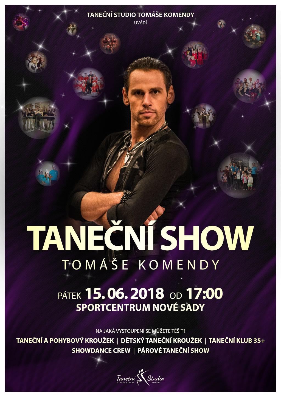 Taneční Show Tomáše Komendy 2018  107cf32bd8